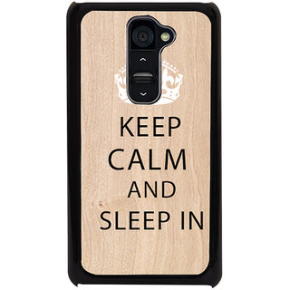 Ayaashii Sleep In  Back Case Cover for LG G2::LG G2 D800 D980