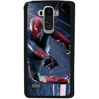 Ayaashii Ultimate Star Spiderman Back Case Cover for LG G4 Stylus