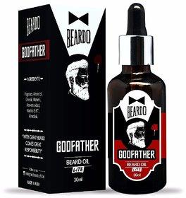 Beardo Godfather Lite Beard Mustache Oil - 30Ml (Set of 1)