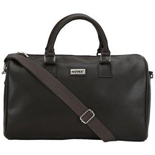 Novex Case Black Duffle Bag