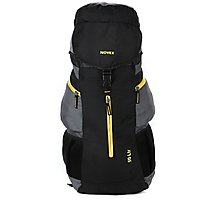 Novex Voyage 50 Ltr Gray Polyester Rucksacks For Unisex