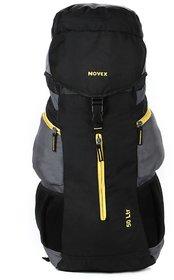 Novex Voyage 50 Ltr Gray Polyester Rucksacks For Unisex