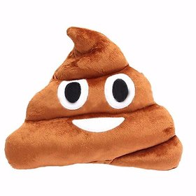 poop emoji cushion whatsapp