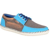 RYKO Men Blue Lace-up Casual Shoes