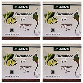 Dr. Jain'S Cucumber Gel - 100G (Set Of 4)