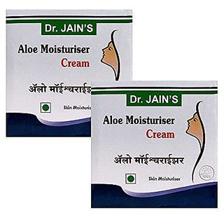 Dr. Jain'S Aloe Moisturiser Cream - 100G (Set Of 2)