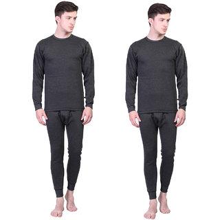 Vimal Winter Cover Black Upper & Bottom Set For Men(Pack Of 2)