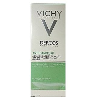 Vichy Dercos Anti-Dandruff Treatment Shampoo For Dry Hair, 200Ml