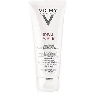 Vichy Ideal White Brightening Deep Cleansing Foam, 100Ml