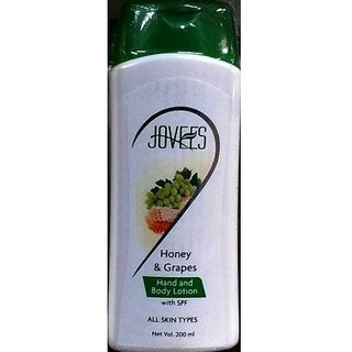 Jovees Honey  Grape Hand And Body Lotion, 200Ml (Pack Of 2)