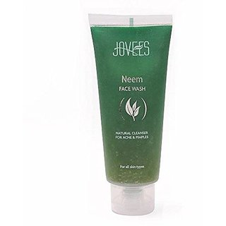 Jovees Natural Neem Face Wash (120Ml) (Pack Of 2)