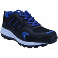 Fitze Men Black And Blue Casual Running Sports Shoes