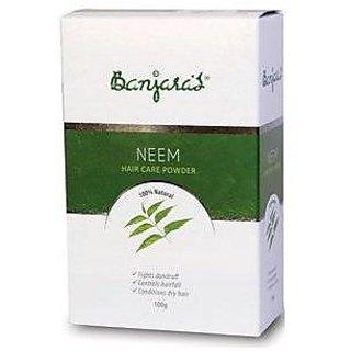 Banjaras Neem Powder (100G) (Pack Of 3)