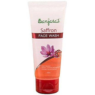 Banjara'S Saffron Face Wash 100 Ml