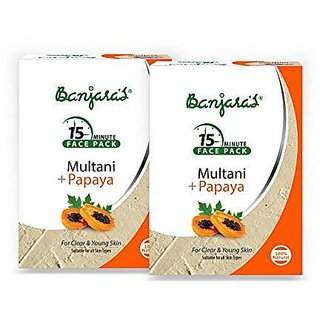 Banjara Multani With Papaya (100G) (Pack Of 3)
