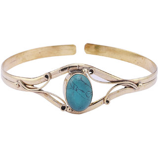 Jewel Fab Art Non Plated Blue Bracelets For Women