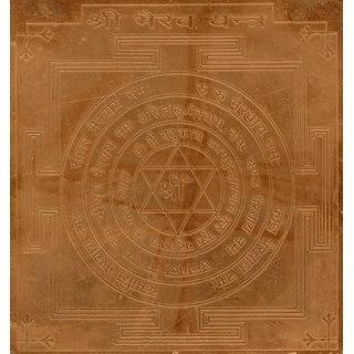 Bhairav Yantra Bhairava Yantram Bhairavar Yendram In Copper
