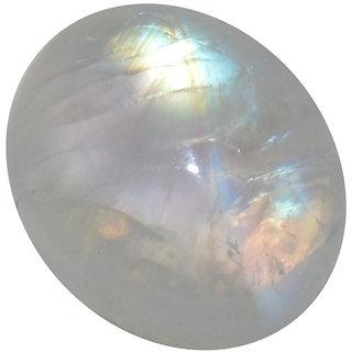 4.5 Ratti 4.13 Carat Loose Natural Rainbow Moonstone LooseGemstone For Astrological Purpose