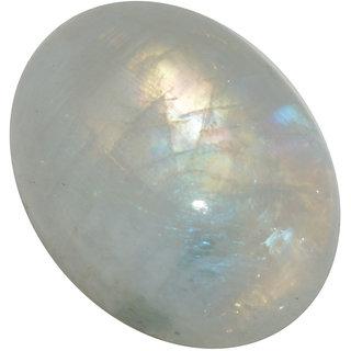 5.5 Ratti 5.05 Carat Loose Natural Rainbow Moonstone Loose Gemstone For Astrological Purpose