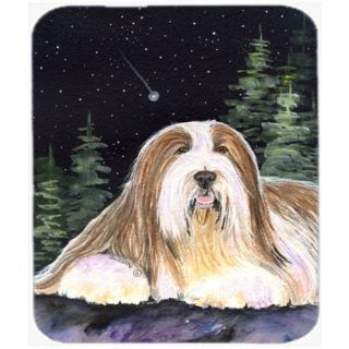 Carolines Treasures Mouse/Hot Pad/Trivet, Starry Night Bearded Collie (SS8529MP)