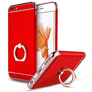 iPhone 6 / 6s Case,Lwang 3 in 1 Hard Protective Luxury Case Cover for iPhone 6 / 6s (4.7Inch) with 360 Degree Rotating R