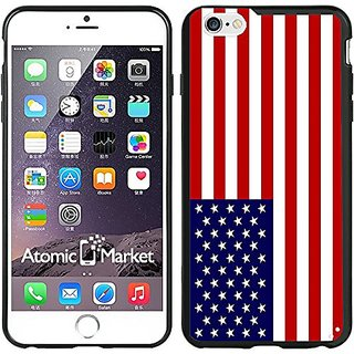 American USA Flag Iphone 6 Plus Case / Cover For Iphone 6 Plus 6S Plus 5.5 Inch by Atomic Market