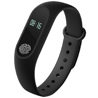 Bingo M2 Waterproof Sporty Smart Fitness Band With Bluetooth Feature