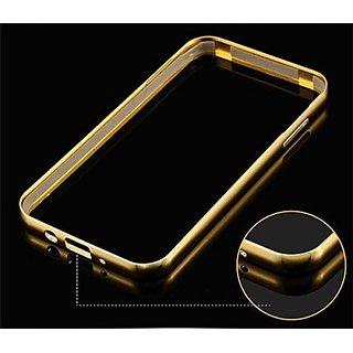 Samsung Galaxy J7 Bumper Golden back cover