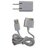 Logiix LGX-10453 Sync And Charge Cable For IPhone, IPad And IPod - Retail Packaging - White