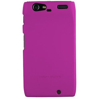 Body Glove Smooth Soft-Touch Paint Case for Motorola DROID RAZR - Retail Packaging - Pink