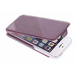 X-Doria 410199 Dash Flip Case for iPhone 5 - 1 Pack - Retail Packaging - Purple/Pink