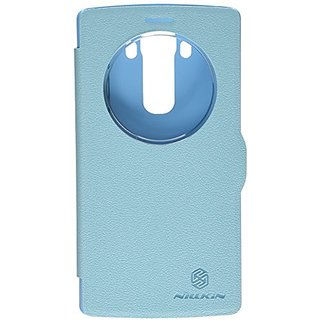 Nillkin Fresh Series Leather Case for LG G4 - Retail Packaging - Blue