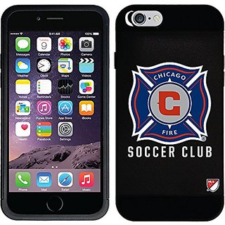 Coveroo Guardian Case for iPhone 6 - Retail Packaging - Chicago Fire - Emblem Design