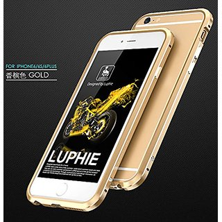 Iphone 6 Plus / 6s Plus Case, Lwang 3D Curved Surface CNC Aviation Aluminum Metal Scratch-Resistant Built-in Sponge Drop