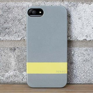 Mrked DD503 Double Dutch Collection Protective Case for iPhone 5 - Carrying Case - Retail Packaging - Light Grey...