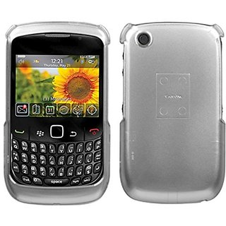 MyBat Blackberry 8520 Solid 2D Phone Protector Cover - Retail Packaging - Silver