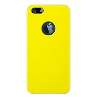 KATINKAS 2108047075 Snap On Cover for iPhone 5 - 1 Pack - Yellow