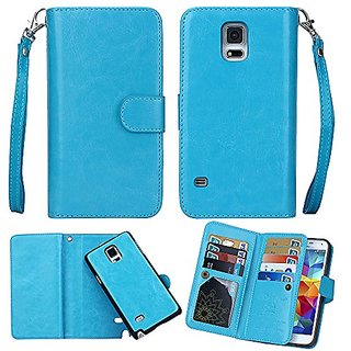 Galaxy Note 4 Case, iMangoo Premium Pu Leather Cover Galaxy Note 4 Flip Wallet Case Folio Detachable Protective Case wit