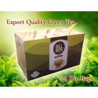 Export Quality,Hill Brew Green Tea 25 Dips,, No Chemicals  No Preservatives