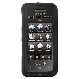 Silicone Cover - Samsung Instinct M800 - Black