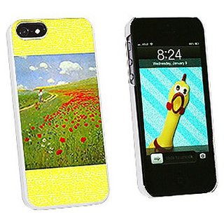 Graphics and More Field of Poppies Pal Szinyei Merse Snap-On Hard Protective Case for iPhone 5/5s - Non-Retail Packaging