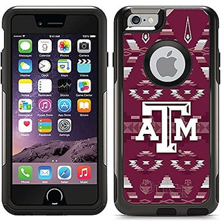 Coveroo Texas A&M Tribal Design Phone Case for iPhone 6 - Retail Packaging - Black