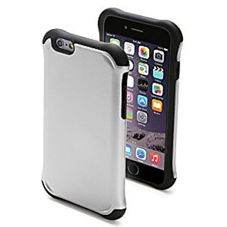 URGE Basics Cell Phone Case for iPhone 6/6S - Retail Packaging - Silver