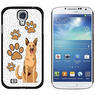 Graphics and More German Shepherd of Distinction Snap-On Hard Protective Case for Samsung Galaxy S4 - Non-Retail Packagi