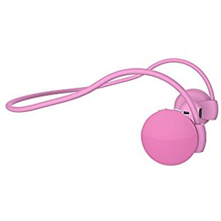 Bluetooth Stereo Headset (Pink) , Stereo Headsets, Noise Suppression and Echo Cancellation Headsets, Upto 7 Hours Talk T