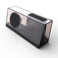 Clearance! Blue Melody USB Portable Bluetooth Stereo Speaker With Enhanced Bass Resonator, FM Radio, Built-in Mic, LED D