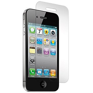 iPhone 4 and 4S Tempered Glass Screen Protector, Heavy Duty, Protects from Drops and Scrapes, Premium Invisible Screen S