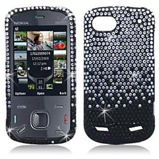 Aimo Wireless ZTEN861PCDI198 Bling Brilliance Premium Grade Diamond Case for ZTE Warp Sequent N861 - Retail Packaging