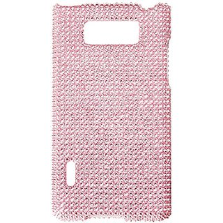 Asmyna LGUS730HPCDMS004NP Luxurious Dazzling Diamante Case for LG Splendor/Venice S730 - 1 Pack - Retail Packaging - Pin