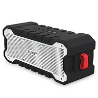 AUKEY Bluetooth Speaker, Wireless Outdoor Speaker With A2DP & 30-Hour Playtime & Enhanced Bass, Build-in Microphone For